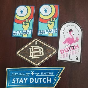 Dutch Brothers stickers new